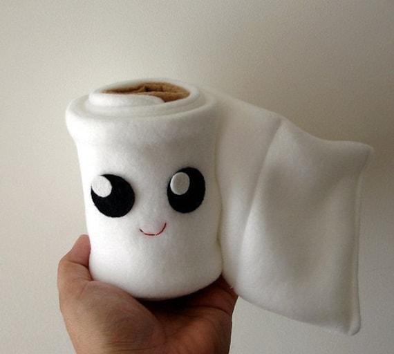 Toilet Paper Roll Plush