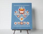 Polish Folk Art Print