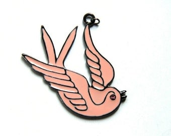 Pink Dove Charm