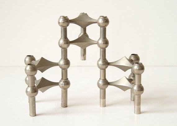 Nagel Candlestick Holders - Mid Century Modern Decor