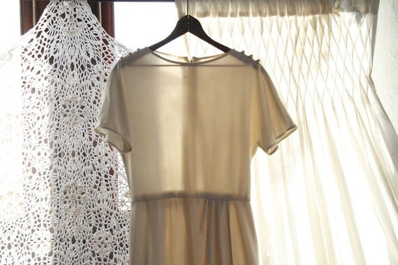 SALE Maple Creemee Dress - Bonwit Teller Nat Caplan Couture