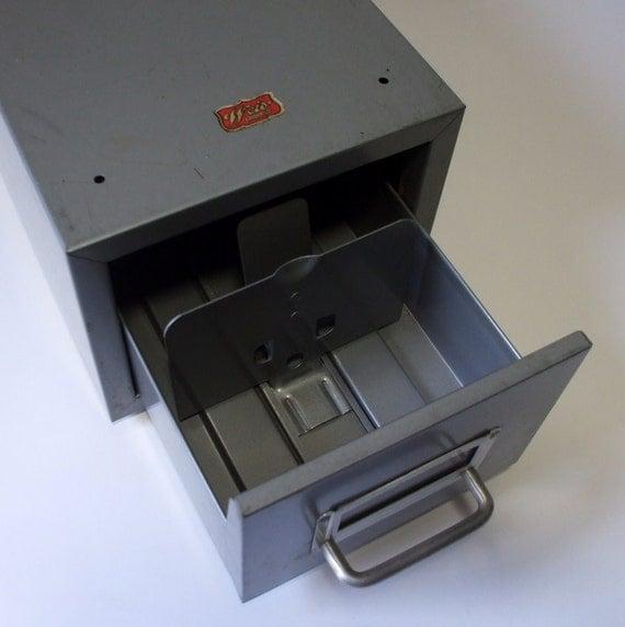 vintage weis file box