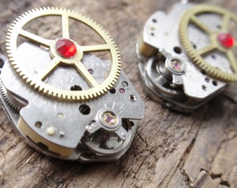 Clockwork Gears steampunk Earrings.
