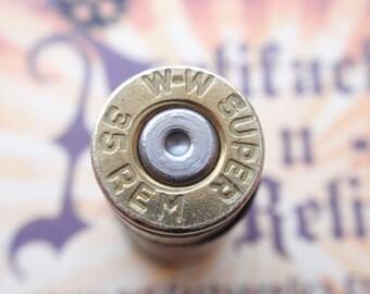 35 Remington WW Super Bullet Casing  2 tone Tie Tack lapel pin