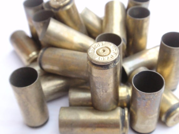 50AE Bullet Shells, 50 Caliber Bullet Casings 10 pcs 50 AE Empty brass rounds cases cartridges empties reloads spent