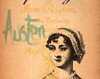 Jane Austen Print 11x17 - Famous Seniors