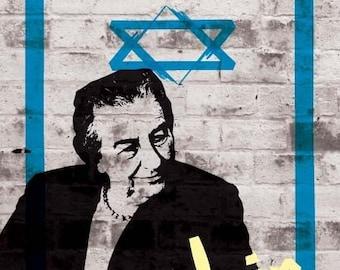 Golda Meir Print 11x17 - Famous Seniors