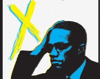 Malcolm X Print 11x17 - Famous Seniors