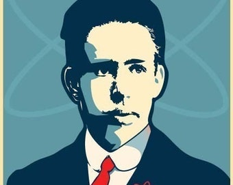 Niels Bohr Print 11x17 - Famous Seniors