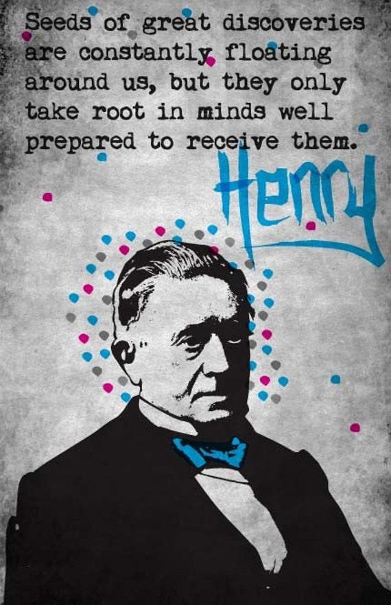 Joseph Henry Print 11x17 - Famous Seniors
