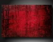 Art original Abstract painting  JMJARTSTUDIO   24 X 36 INCHES Textured textured textured------- Passion--- ------