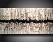 Art Painting Original Jmjartstudio Original Painting 24 X 48 Inches -------