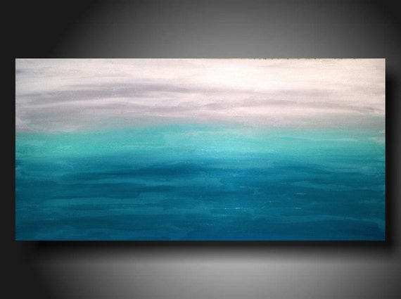 Art Painting Original Jmjartstudio Original Painting 24 X 48 Inches -------Custom Order
