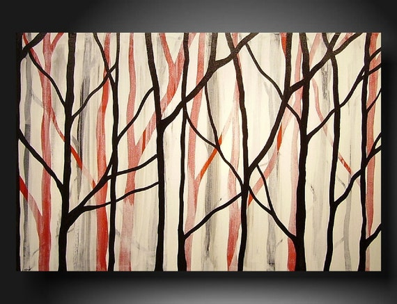 SALE SALE today only Art Painting Original Jmjartstudio Original Painting 24 X 36 Inches -------Trying--- ----- on sale save 70 dollars