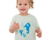SEA HORSES - onesie / toddler t-shirt