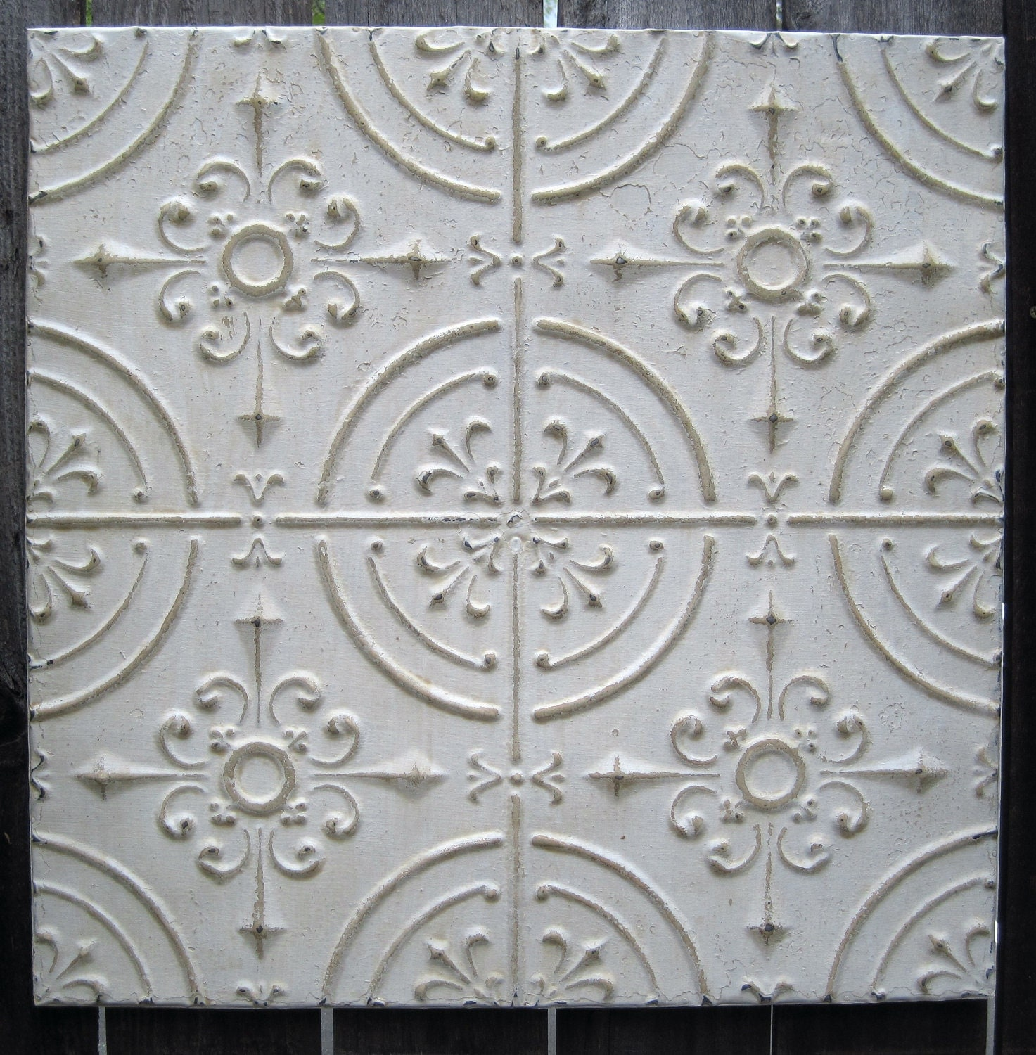 Tin/Metal Ceiling Tiles - Unfinished - Tin Plated 41