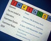 Periodic Table - Science Party Invitation and Decoration Pack - Printable PDF Download