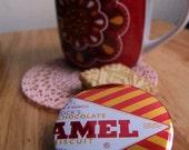 Tunnock's Caramel Wafer Pin Badge