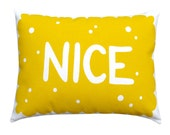 Nice Biscuit Printed Cushion