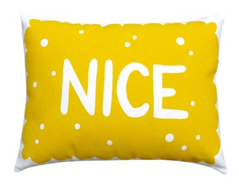 Nice Biscuit Printed Cushion / Cookie Pillow