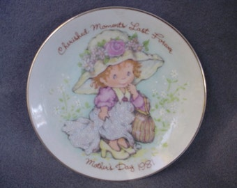 Collectible Avon1981 Mother's Day Plate