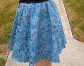 Blue Marvel Circle Skirt