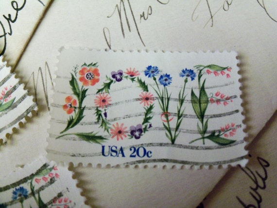 Postage Stamps, Love, Hearts