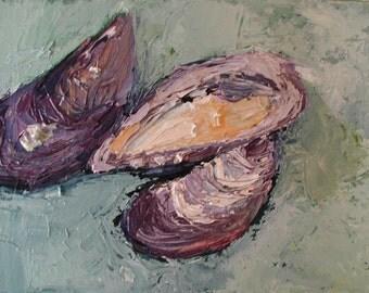 Original Acrylic Painting On Canvas, Contemporary Fine Art by Rina Miriam Drescher