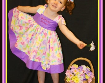Stephanie Collection Boutique OOAK Butterfly Kisses Dress