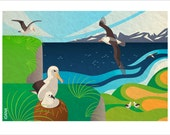 Life of (Wandering) Albatrosses - Signed Limited Edition Fine Art Print