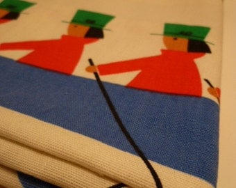 SCANDINAVIAN vintage kids fabric