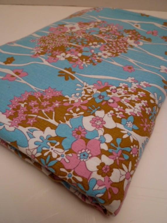 FLOWER FALL vintage fabric