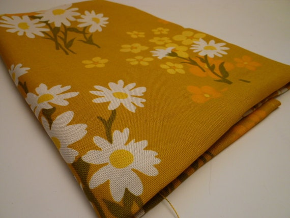 SPRING TIME vintage fabric