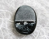 Rosetta Stone Large Art Bead - Greek Portion