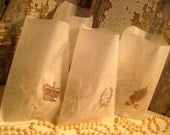 Wedding Favor Gift Bags - SET of 100 - Parisian Gift Sacs - Wedding Favors - French Market