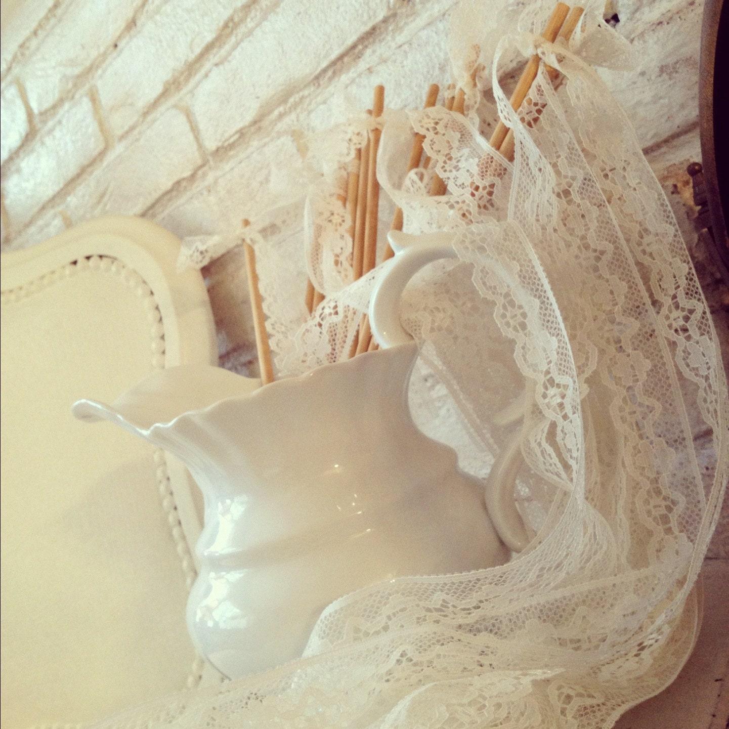Items similar to wedding decoration wedding wands set for Wedding wands