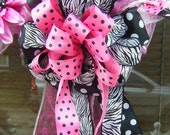 fun n funky whimsical wreath... wedding and bridal decorative....home and bows