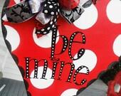 cupid, xoxo,  valentine, i love you, heart, ORIGINAL..aDOORable aDOORnments...whimsically designed DOOR jewelry........  sEAsoNaL