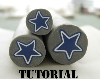 Tutorial - Polymer Clay Deb's Easy Star Cane