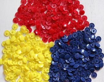 KAM Plastic snaps - 300 sets (size 20 or 16 Standard snaps) (On Sale)