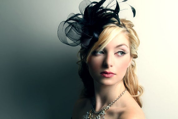 Black Fascinator for Kentucky Derby