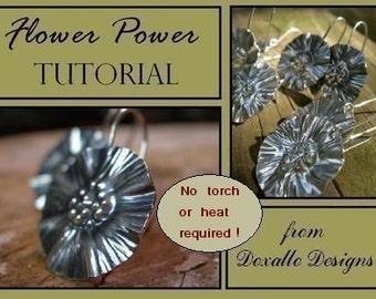 Tutorial - Metalsmithed Flower