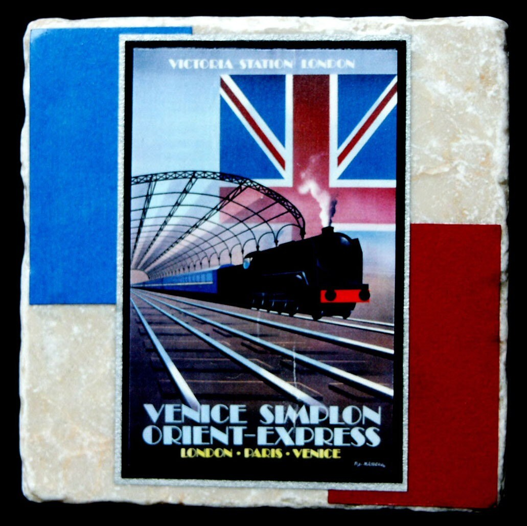 Orient Express Vintage... Vintage Train Poster