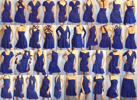 The Free-Style Dress, convertible dress, infinity dress, convertible bridesmaid dress, wrap dress, plus size dress, maternity dress, formal