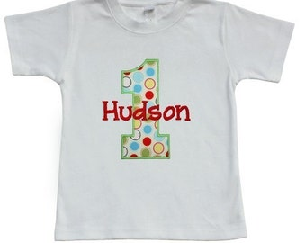 Personalized Birthday Shirt or Onesie-Short or Long Sleeve