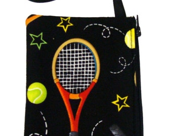 christmas sale electronic device cluch purse, pouch  wristband makeup bag, cosmetic bag tennis sport design print exterior