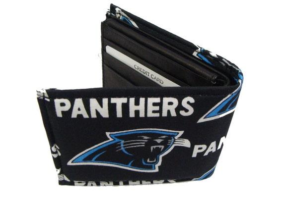 NFL Calorina  Panthers Men  Wallet  US Handmade Cotton