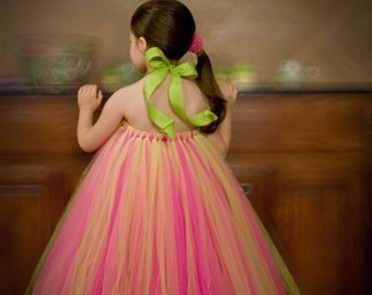 Create your own Tutu Dress...Sizes (6 months) - 1 year...Plus a FREE Flower clip...
