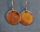 Copper Delight Earrings - Handmade
