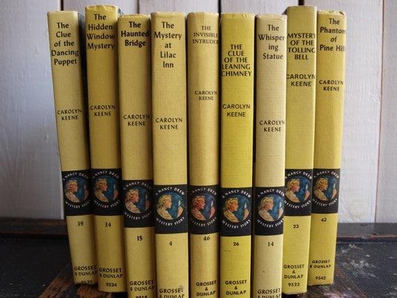 Vintage Nancy Drew Collection